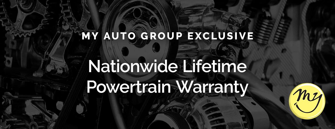 Nationwide Lifetime Powertrain Warranty | Nissan of Muskegon