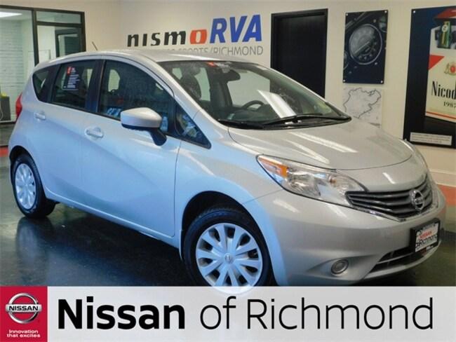 Used 2015 Nissan Versa Note For Sale In Richmond VA Near