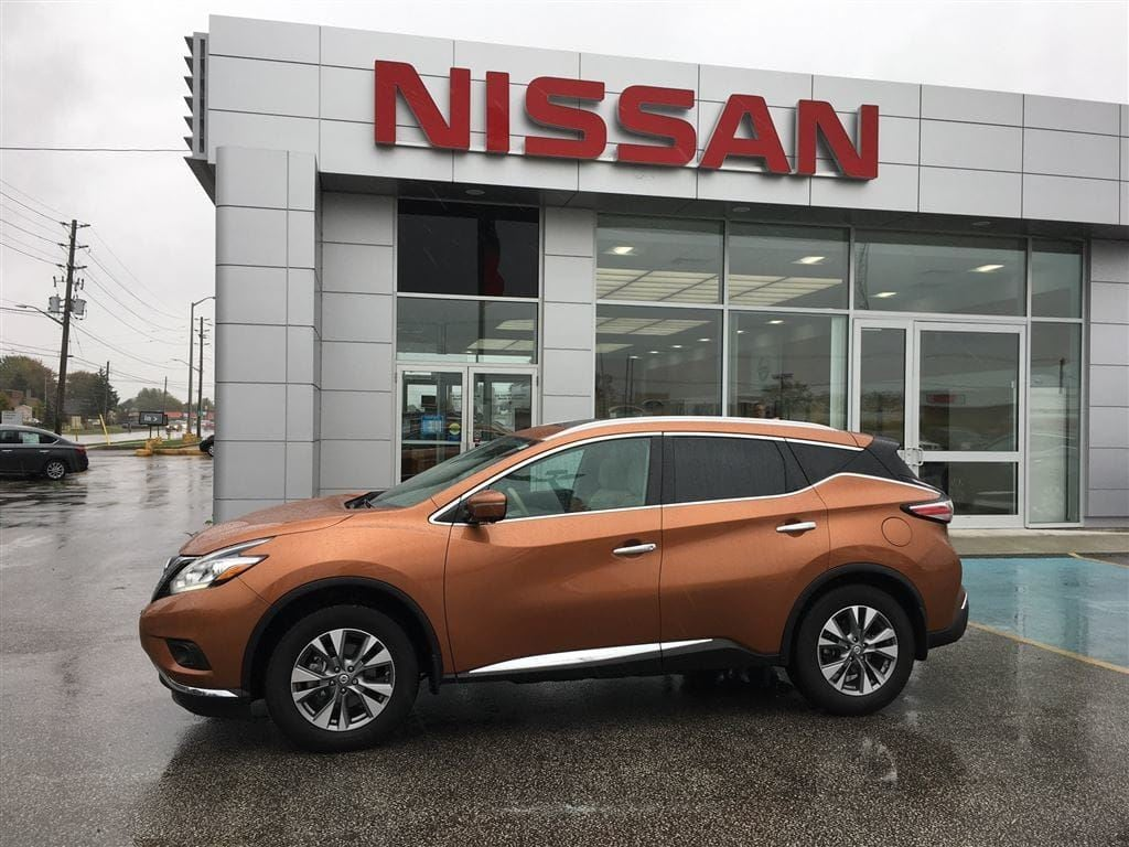 2015 Nissan Murano SL - Leather - All Wheel Drive SUV