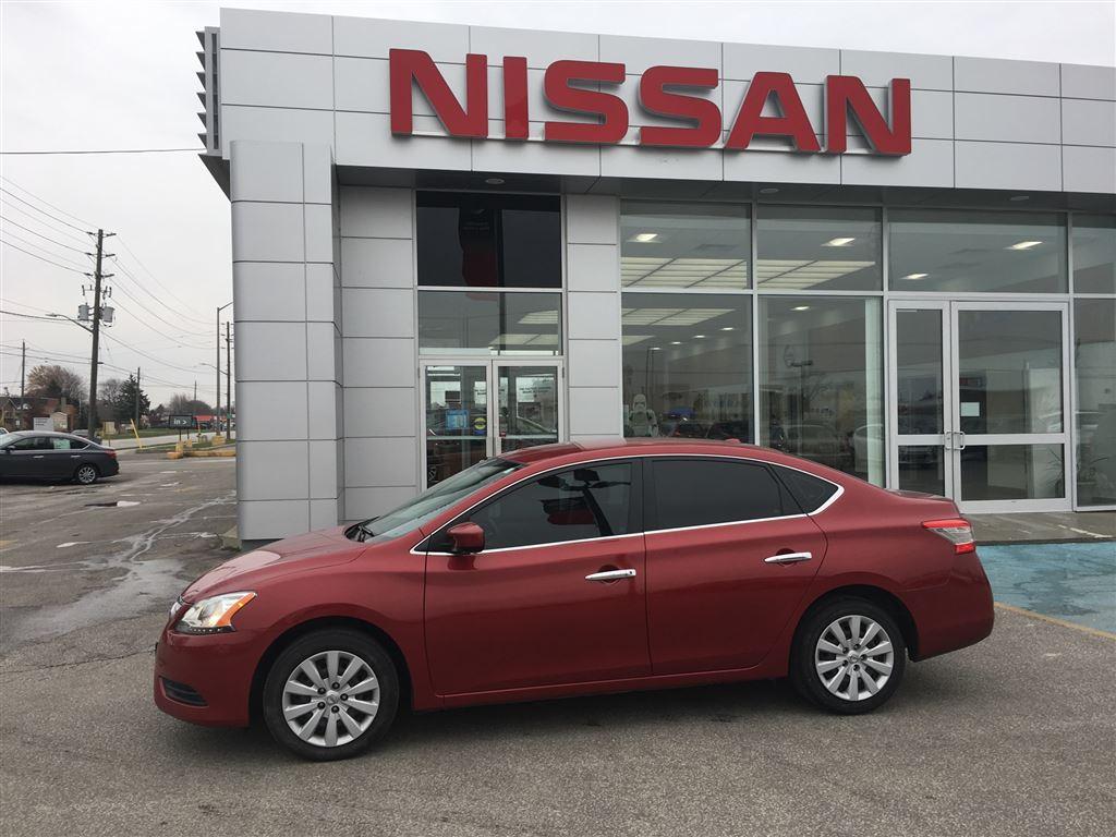 2013 Nissan Sentra SV - Eligible for warranty upgrade Sedan