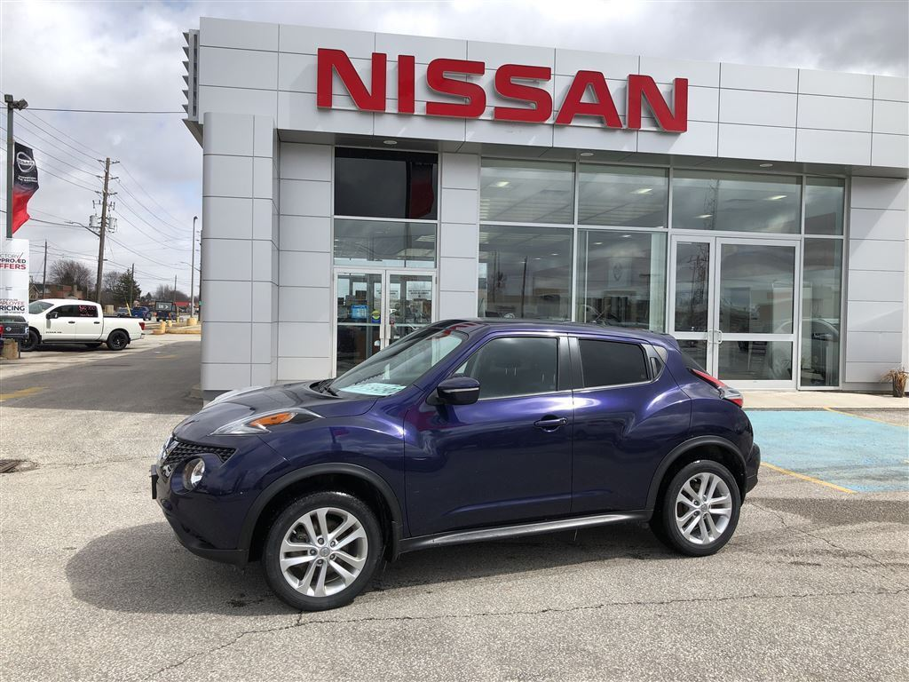 2015 Nissan Juke SV - Manual Transmission Wagon
