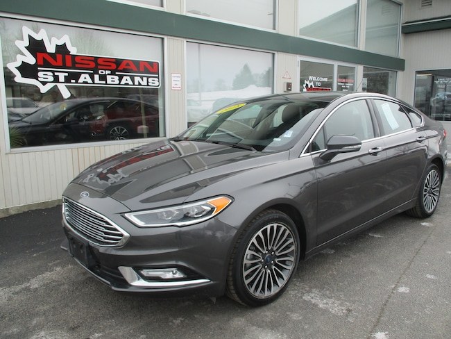 Used 2018 Ford Fusion Sedan in St Albans VT