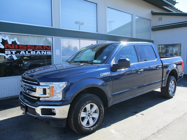 Used 2018 Ford F-150 Truck SuperCrew Cab in St Albans VT