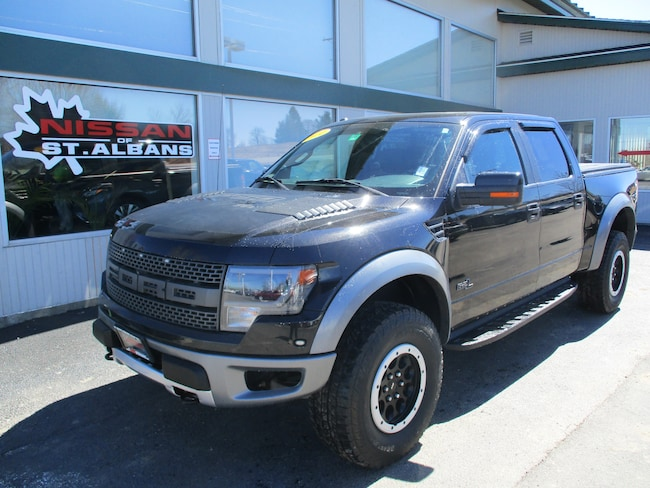 Used 2014 Ford F-150 SVT Raptor (Retail Only) Truck SuperCrew Cab in St Albans VT