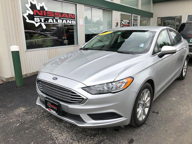 Used 2017 Ford Fusion SE Sedan in St Albans VT