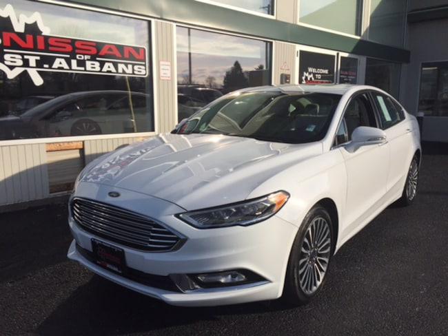Used 2017 Ford Fusion Sedan in St Albans VT