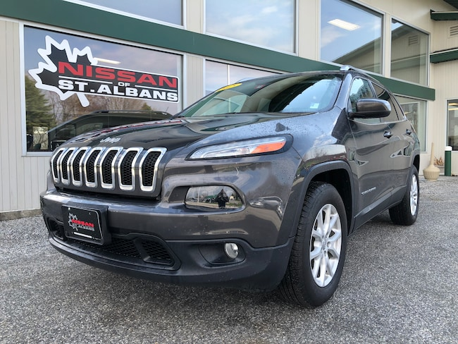 Used 2015 Jeep Cherokee Latitude 4x4 SUV in St Albans VT