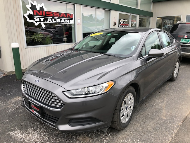 Used 2014 Ford Fusion S Sedan in St Albans VT