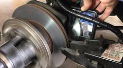 Brake System Service; Disc Brake Only
