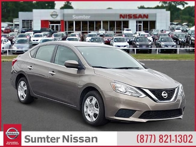 Used 2016 Nissan Sentra Sedan For Sale Sumter, SC