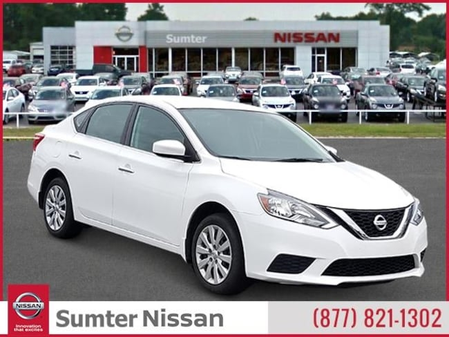 Used 2017 Nissan Sentra S Sedan For Sale Sumter, SC
