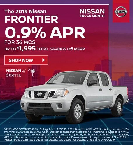 2019 Frontier September Offer