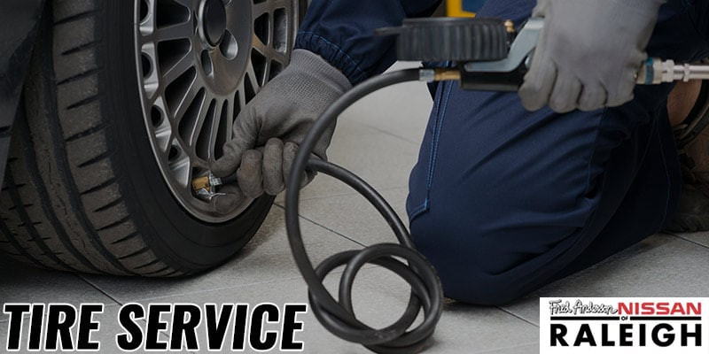 Experienced Nissan Tire Service in Raleigh, NC