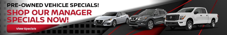 Pre-Owned Vehicle Specials!!