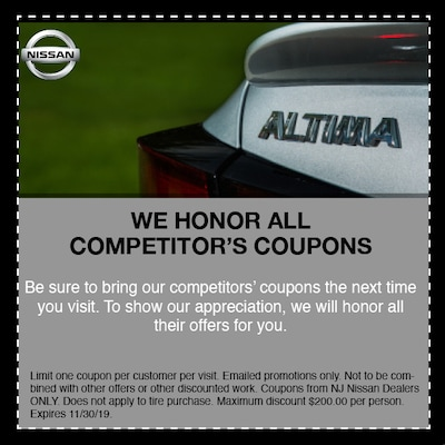 Competitor Coupons
