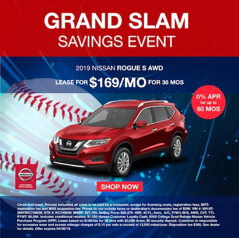 Grand Slam Savings Event