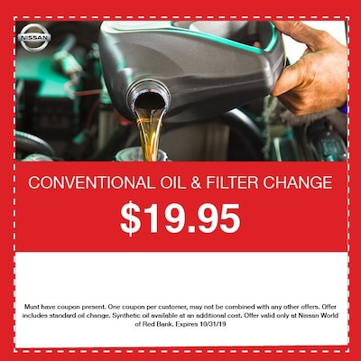 Conventional Oil Change & Filter Change