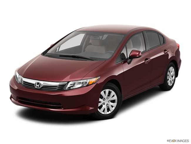 2012 Honda Civic LX Sedan