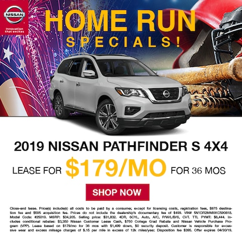 New Nissan Pathfinder S