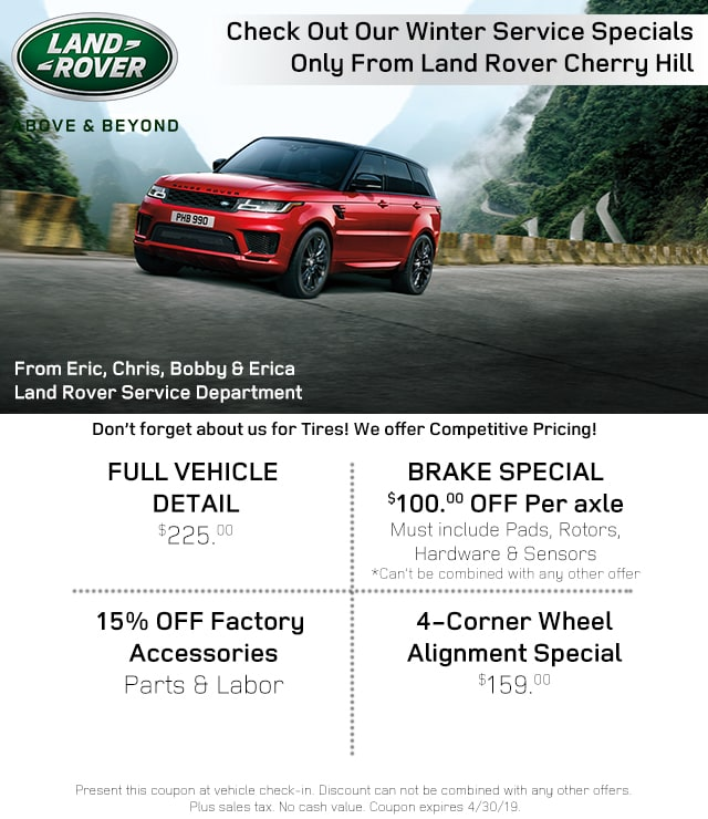 Land Rover Cherry Hill