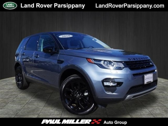 Pre-Owned 2018 Land Rover Discovery Sport HSE HSE 4WD SALCR2RX3JH753774 in Parsippany