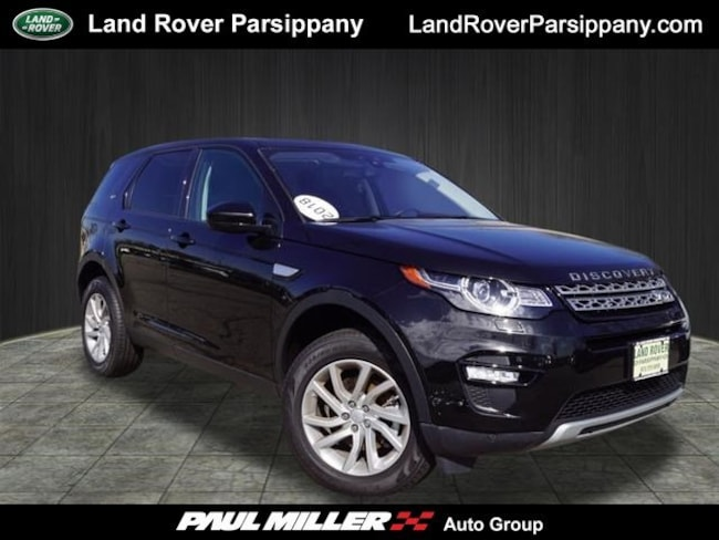 Pre-Owned 2018 Land Rover Discovery Sport HSE HSE 4WD SALCR2RX2JH775409 in Parsippany