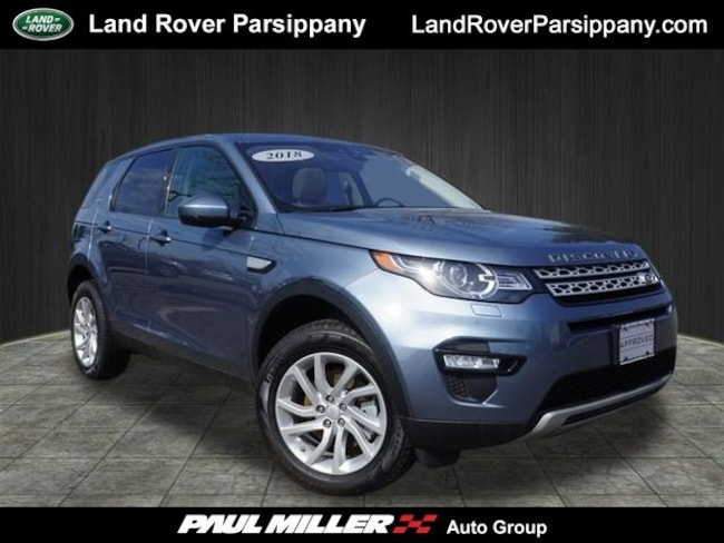 Pre-Owned 2018 Land Rover Discovery Sport HSE HSE 4WD SALCR2RX1JH778558 in Parsippany