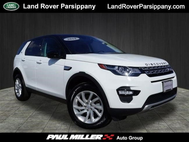 Pre-Owned 2018 Land Rover Discovery Sport HSE HSE 4WD SALCR2RX8JH751163 in Parsippany