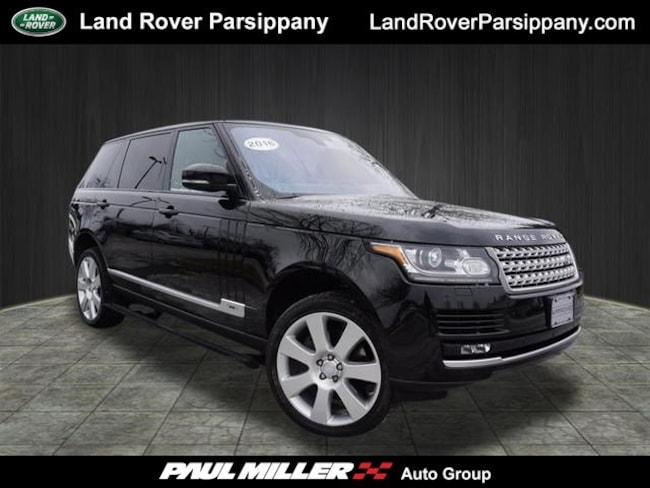 Pre-Owned 2016 Land Rover Range Rover Supercharged 4WD  Supercharged LWB SALGS3EF2GA258072 in Parsippany