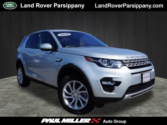 Pre-Owned 2018 Land Rover Discovery Sport HSE HSE 4WD SALCR2RX4JH778778 in Parsippany