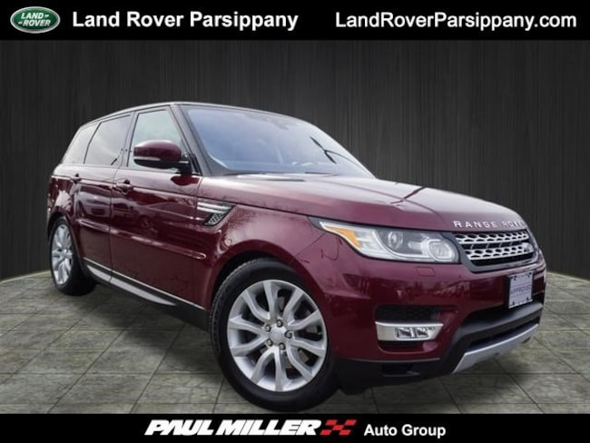 Pre-Owned 2017 Land Rover Range Rover Sport HSE V6 Supercharged HSE SALWR2FV8HA677388 in Parsippany