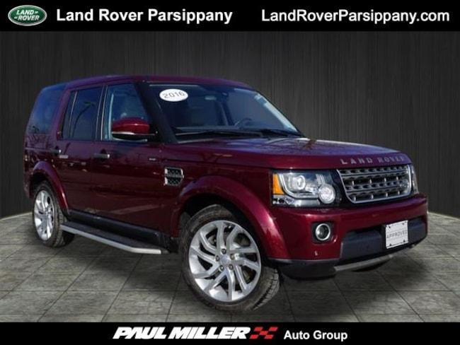 Pre-Owned 2016 Land Rover LR4 SUV SALAG2V69GA810815 in Parsippany