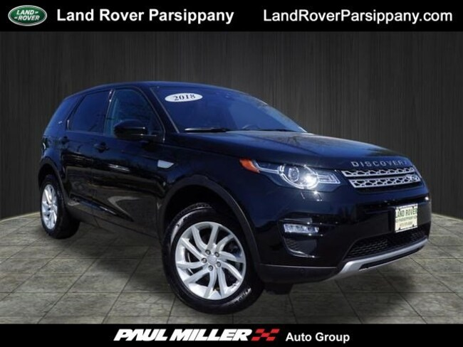 Pre-Owned 2018 Land Rover Discovery Sport HSE HSE 4WD SALCR2RX8JH778492 in Parsippany