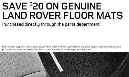 Land Rover Floor Mats