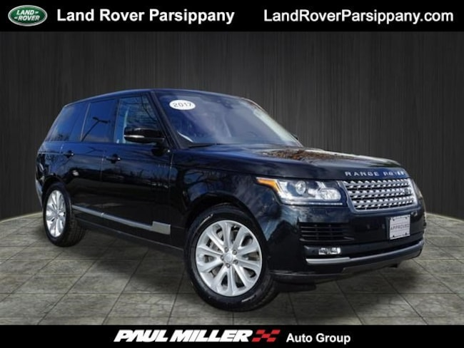 Pre-Owned 2017 Land Rover Range Rover V8 Supercharged SWB SALGS2FE2HA321009 in Parsippany