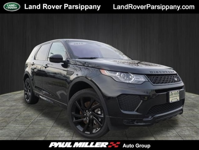 Pre-Owned 2018 Land Rover Discovery Sport HSE HSE 286hp 4WD SALCR2SX9JH738657 in Parsippany