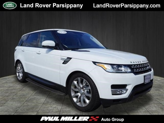 Pre-Owned 2016 Land Rover Range Rover Sport V6 HSE 4WD  V6 HSE SALWR2VF7GA574679 in Parsippany