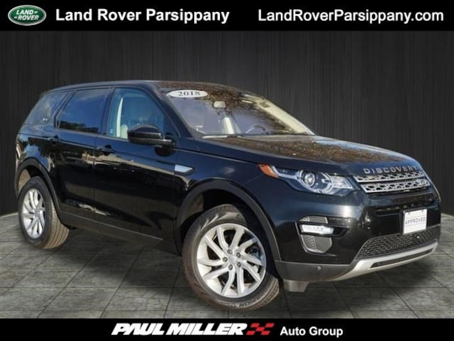 Pre-Owned 2018 Land Rover Discovery Sport HSE HSE 4WD SALCR2RX7JH748819 in Parsippany