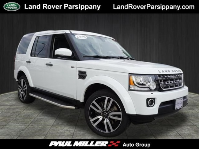 Pre-Owned 2016 Land Rover LR4 4WD SALAC2V63GA816394 in Parsippany