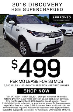 2018 Discovery HSE SuperCharged