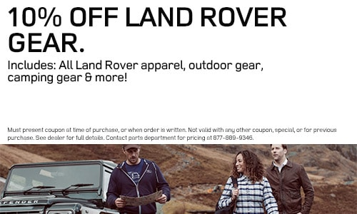 Land Rover Parts Specials | Land Rover Parsippany