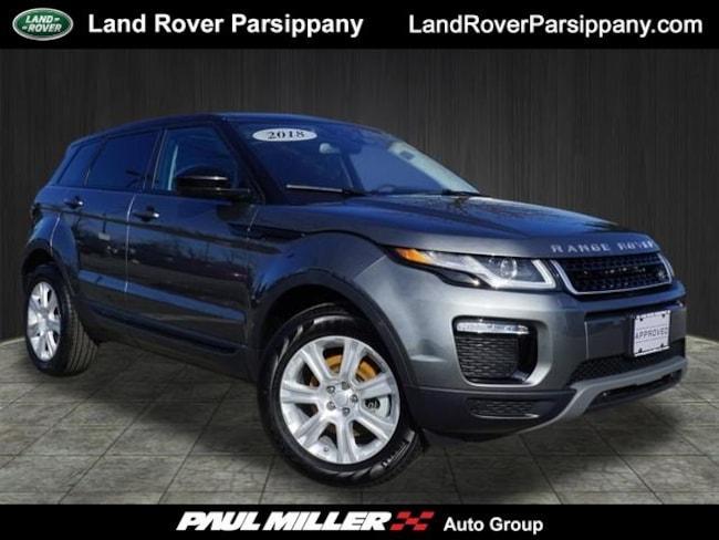 Pre-Owned 2018 Land Rover Range Rover Evoque SE SE SALVP2RXXJH321763 in Parsippany