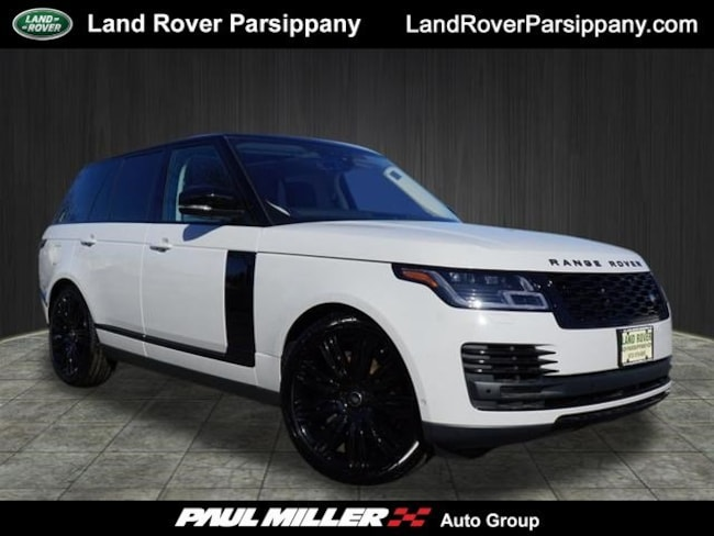Pre-Owned 2019 Land Rover Range Rover HSE V6 Supercharged HSE SWB SALGS2SV2KA533860 in Parsippany