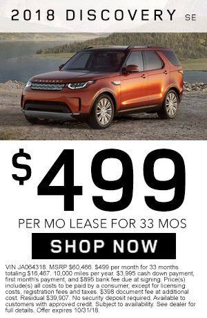 2018 Land Rover Full Size Discovery SE