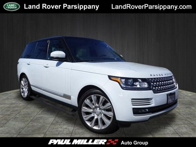 Pre-Owned 2017 Land Rover Range Rover V8 Supercharged SWB SALGS2FE7HA325086 in Parsippany
