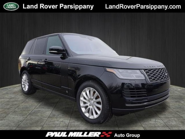 New 2019 Land Rover Range Rover 3.0L V6 Turbocharged Diesel Td6 SUV in Parsippany
