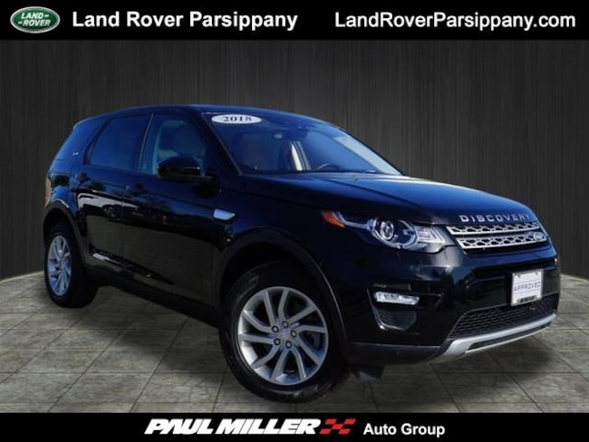 Pre-Owned 2018 Land Rover Discovery Sport HSE HSE 4WD SALCR2RX5JH748253 in Parsippany