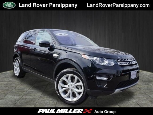 Pre-Owned 2018 Land Rover Discovery Sport HSE HSE 4WD SALCR2RX1JH766247 in Parsippany