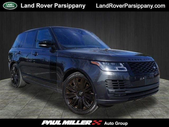 Pre-Owned 2019 Land Rover Range Rover HSE V6 Supercharged HSE SWB SALGS2SV1KA516547 in Parsippany