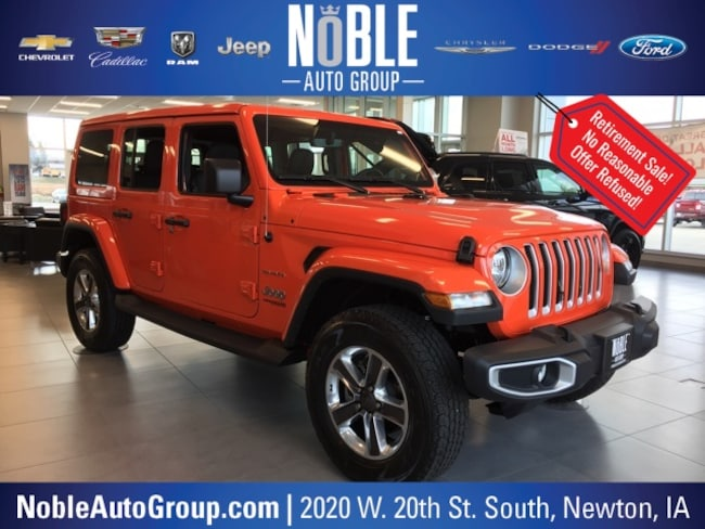2018 Jeep Wrangler Unlimited Sahara SUV